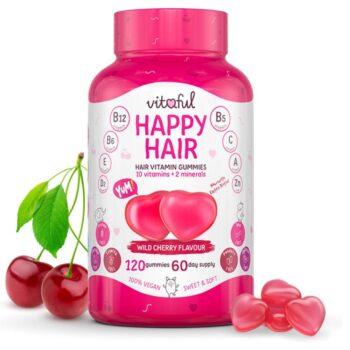 Vitaful Happy Hair hajvitamin gumivitamin - 120db