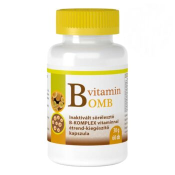 Viva Natura B-Bomb B-vitamin komplex kapszula - 60db
