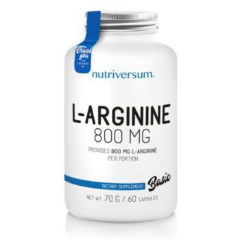 Nutriversum BASIC L-arginine kapszula - 60db
