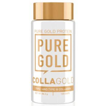 Pure Gold CollaGold Marha és Hal kollagén kapszula hialuronsavval - 120db
