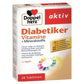 Doppelherz Diabetikus vitamin tabletta - 30db