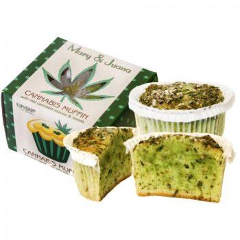 Euphoria Mary & Juana Cannabis muffin - 60g