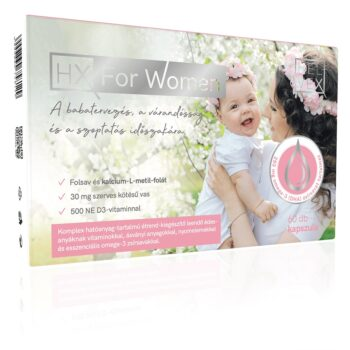 HX For Women - babatervezés kapszula - 60db