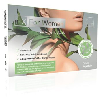 HX For Women - haj, bőr, köröm kapszula - 60db