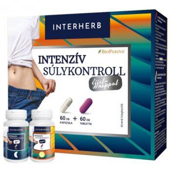 Interherb Intenzív súlykontroll éjjel-nappal - 60db kapszula + 60db tabletta