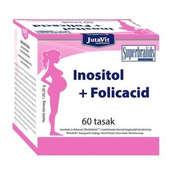 JutaVit Inositol+Folicacid por - 60 tasak