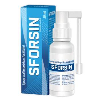 Sforsin Horkolás elleni spray - 20ml