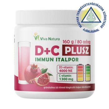 Viva Natura D+C Plusz Immun italpor - 160g