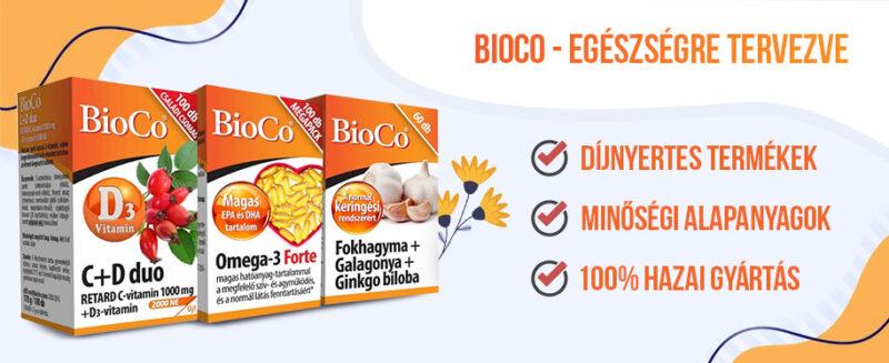 BioCo – Megbízható minőség, díjnyertes termékek!