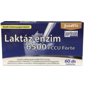 JutaVit Laktáz enzim 6500 FCCU Forte tabletta - 60db