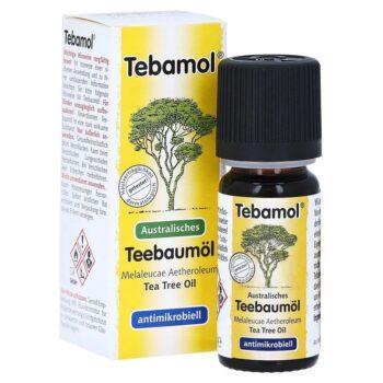 Tebamol ausztrál teafaolaj - Az egyetlen valóban gyógyhatású teafaolaj - 10ml