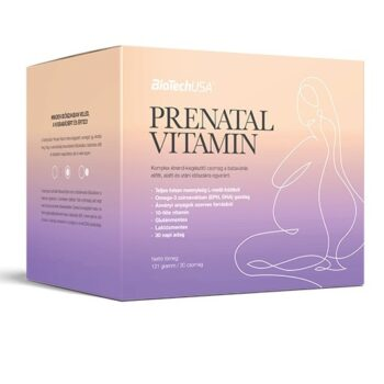 BioTech USA Prenatal - Babaváró vitamin - 30 tasak