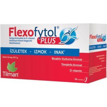 Flexofytol Plus tabletta - az ízületek, izmok, inak védelmében - 56db