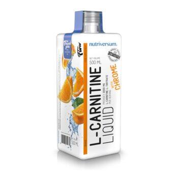 Nutriversum FLOW- L-karnitin narancs ízű ital - 500ml