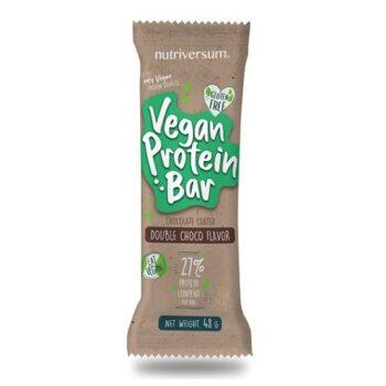 Nutriversum Vegan Protein Bar dupla csoki - 48g