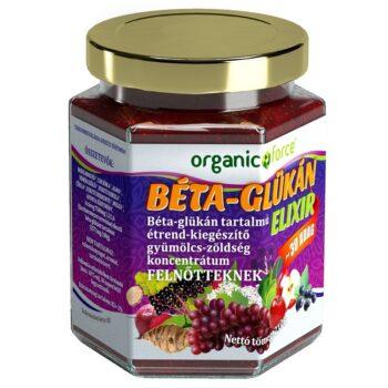 Organic Force Béta-Glükán Elixír Új - 210g