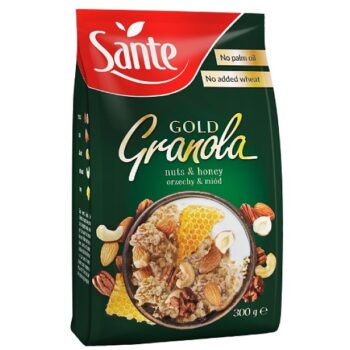 Sante Granola Gold méz-diófélék - 300g