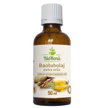 Biomenü Bio Baobab-olaj extra szűz - 50ml