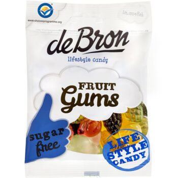 DeBron Fruitgums gumicukor - 100g