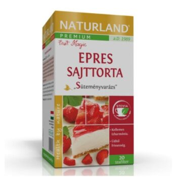 Naturland Prémium Epres Sajttorta ízű teakeverék - 20 filter
