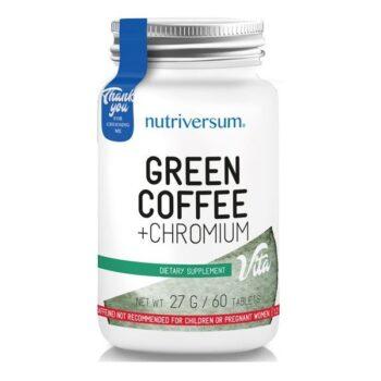 Nutriversum Zöld Kávé + Króm tabletta - 60db