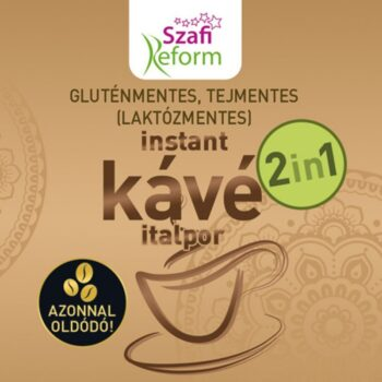 Szafi Reform Instant kávé italpor 2in1 - 150g