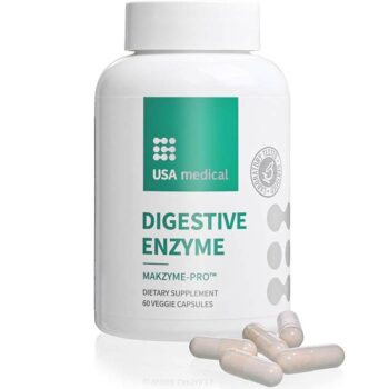 USA Medical Digestive Enzyme kapszula - 60db