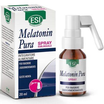 ESI Melatonin Pura nyelvalatti spray mentol ízben - 20ml