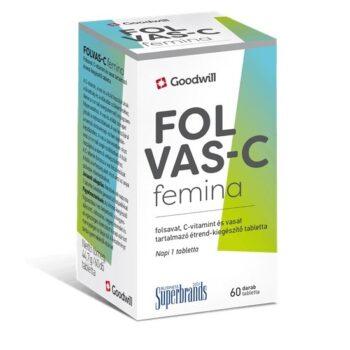 Goodwill Folvas-C Femina tabletta - 60db