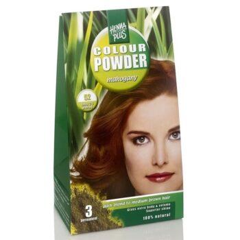 Hennaplus 52 mahagóni hajszínező por