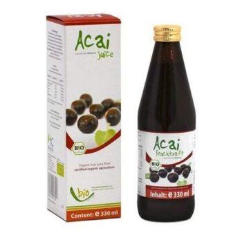 Medicura Acai Berry 100% Bio gyümölcslé kivonat - 330ml