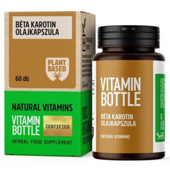 Vitamin Bottle Béta Karotin olajkapszula - 60db