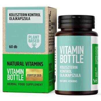 Vitamin Bottle Koleszterin Kontrol olajkapszula - 60db